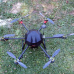 FlyDrone-X6-back